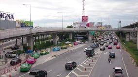 Thailand street view, Expressway near Mega Bangna. Shoot in 2015 4K HD quality stock video