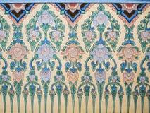 Thailand stripes. On church wall of wattraimitr Stock Images