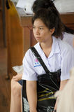 Thailand student girl. Stock Images