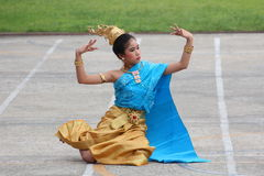 Thailand students Culture Dance Stock Photography