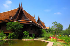 Thailand style house Stock Photography