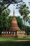 Thailand, Sukhothai: Wat Sorasak Stock Photos