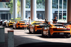 Thailand Super Car & Import Car Show Stock Photo