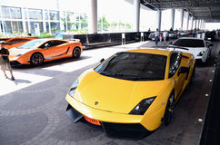 Thailand Super Car & Import Car Show Royalty Free Stock Photography