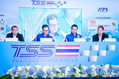 Thailand Super Series 2013 Royalty Free Stock Photography