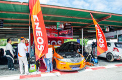 Thailand Super Series 2014 Race 3 Stock Photo