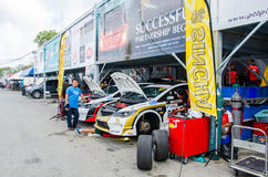 Thailand Super Series 2014 Race 3 Royalty Free Stock Photography