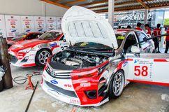 Thailand Super Series 2014 Race 3 Stock Photos
