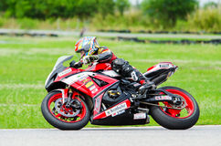 Thailand SuperBikes Championship 2015 Round 1 Royalty Free Stock Images