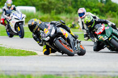 Thailand SuperBikes Championship 2015 Round 1 Stock Images