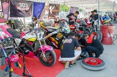 Thailand SuperBikes Championship 2015 Round 1 royalty free stock photography