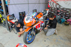 Thailand SuperBikes Championship 2015 Round 1 stock photography