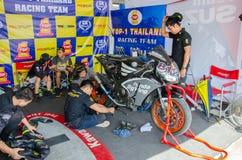 Thailand SuperBikes Championship 2015 Round 1 Royalty Free Stock Image