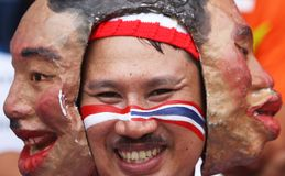 Thailand supporter Stock Images