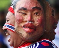 Thailand supporter Royalty Free Stock Photo