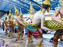Thailand: Suvarnabhumi Flughafen Stockfotografie