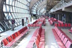 Thailand: Suvarnabhumi internationaler Flughafen stockfotografie