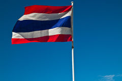 Thailand Sway Flag Stock Photography