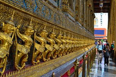 Thailand tempel Arkivbild