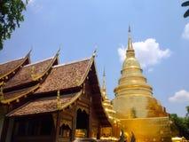 Thailand tempel Royaltyfri Bild