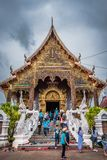 Thailand Tempel genannter ?Wat Den Salee Sri Muang Gan Wat Ban Den ? lizenzfreie stockfotografie