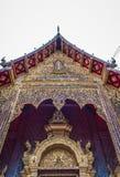 Thailand tempel genoemd ?Wat Den Salee Sri Muang Gan Wat Ban Den ? stock fotografie
