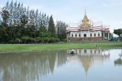 Thailand tempel i det norr landet Royaltyfri Foto