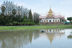 Thailand-Tempel im Nordland Lizenzfreies Stockfoto