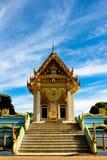 Thailand tempel Julian Bound Royaltyfri Foto