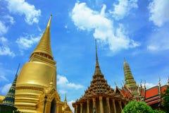 Thailand-Tempel, Wat Phra Kaew stockbilder
