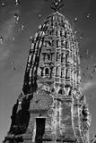 Thailand tempelstaty Royaltyfria Bilder