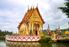 Thailand Temple Stock Photo