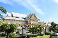 Thailand temple. Thai landmark temple at Wat Sothon Wararam Woramahawihan Royalty Free Stock Image