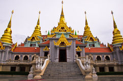 Thailand temple. Temple in south of thailand Royalty Free Stock Images