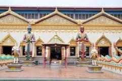 Thailand temple. At Wat Chaiya Mangkalaram Temple Royalty Free Stock Photo