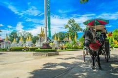 Thailand temple. Lampang i love u Stock Images