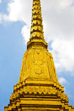 Thailand  in     temple abstract     and  colors religion  mosa Stock Photography