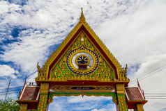Thailand temple arch Stock Images