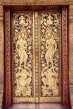 Thailand Temple Art cover flap area Stock Photos