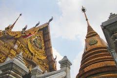 Thailand temple in Bangkok. At Hau lum pong temple Bangkok Thailand Stock Photo