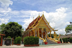 Thailand Temple. Buddha travel tree wat white worship Royalty Free Stock Photography