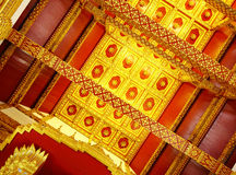 Thailand temple ceiling Royalty Free Stock Photos