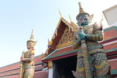 Thailand : Temple of Emerald Buddha Royalty Free Stock Image
