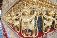 Thailand : Temple of Emerald Buddha Stock Photography