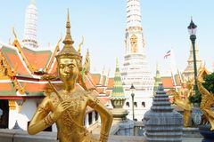 Thailand : Temple of Emerald Buddha Stock Image