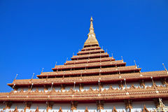 Thailand temple of Gold sanctuary. Stock Images