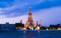 Thailand Temple. Near the ChaoPraYa river Stock Photos