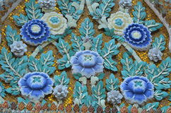 Thailand temple Pattern Royalty Free Stock Photo