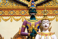 Thailand Temple In Penang stock image