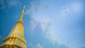 Thailand  temple sky image for religion content. The Thailand  temple sky image for religion content royalty free stock images